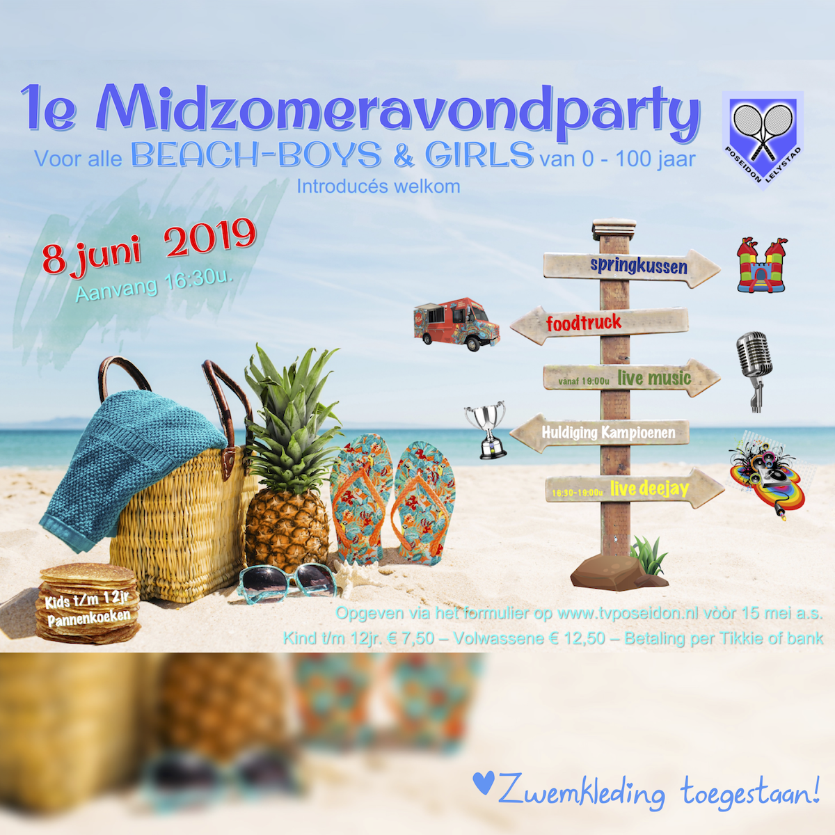1e Midzomeravondparty