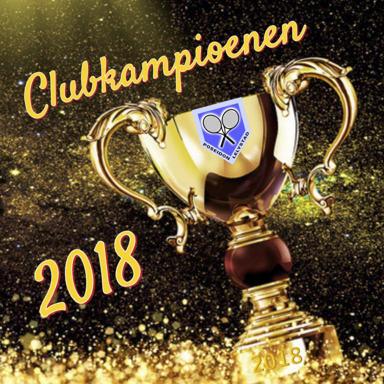 Clubkampioenen 2018