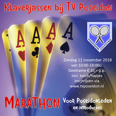 Klaverjassen bij Poseidon Marathon 2018 400