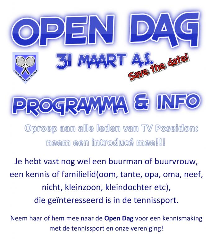 Open dag 2018 - Programma & info