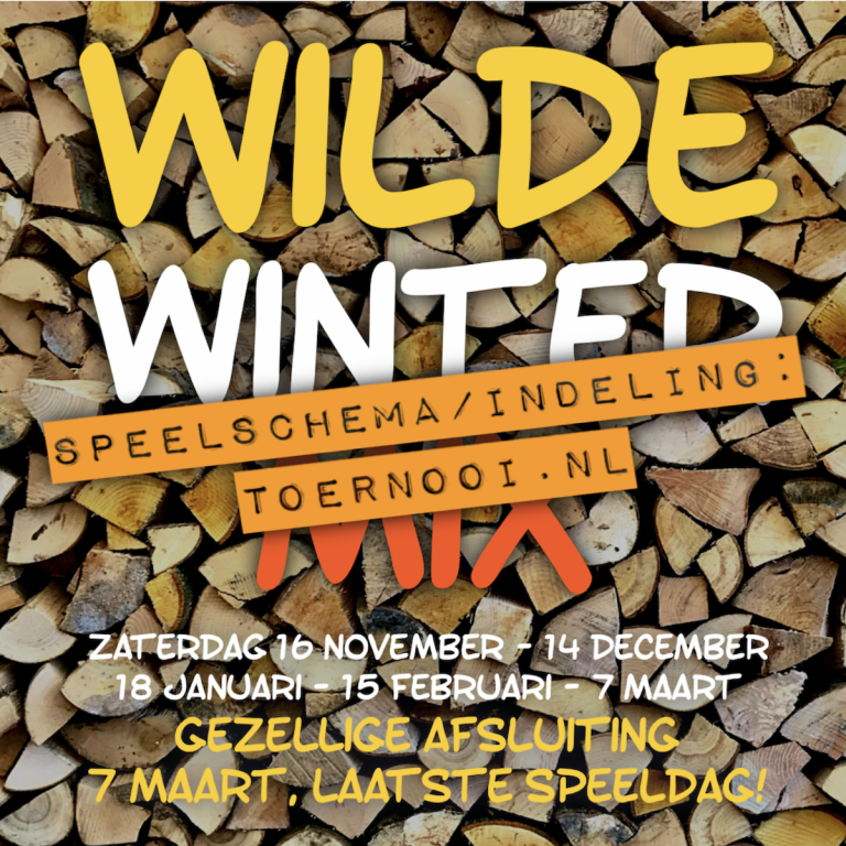 Wilde Winter Mix 2019 3-11 - Indeling