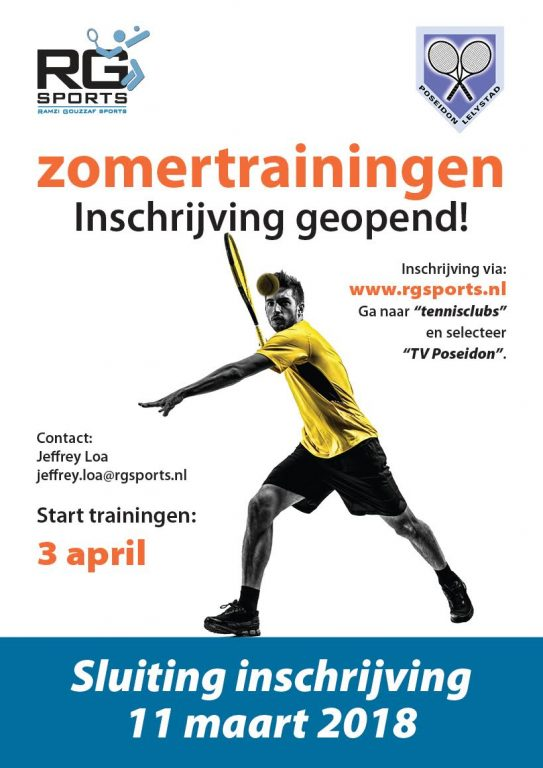 Zomertraining RG 2018