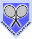 Logo van gezellige Tennisvereniging Poseidon in Lelystad